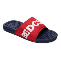 Tong Claquette DC Bolsa Navy Red