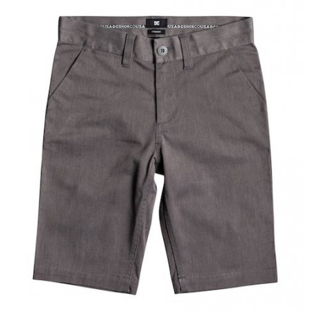 Short Kid DC Worker Heather Grey Heather