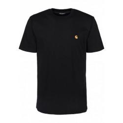 T-shirt CARHARTT WIP Chase Black Gold