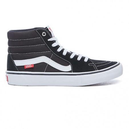 Chaussure VANS SK8 HI Pro Black White