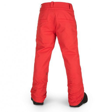 Pantalon Ski Kid VOLCOM Snow Freakin Chino Fired Red
