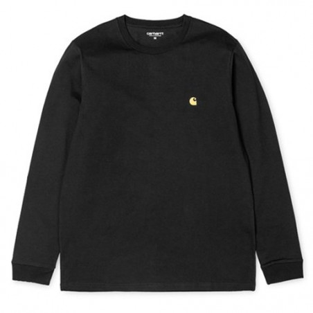 T-shirt CARHARTT WIP Chase Black Gold