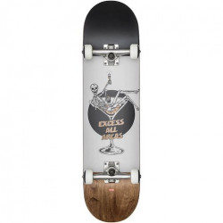 "Skateboard GLOBE G1 Excess 8"" White Brown"