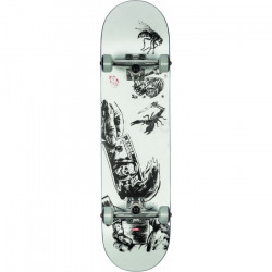 "Skateboard GLOBE G1 8"" Hard Luck White Black"