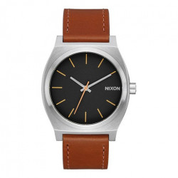 Montre NIXON Time Teller Silver Black Brown