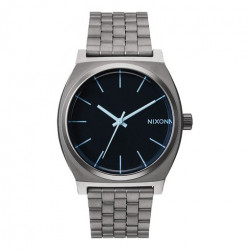 Montre NIXON Time Teller Gunmetal Blue Crystal
