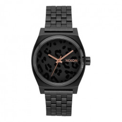 Montre NIXON Time Teller All Black Cheetah