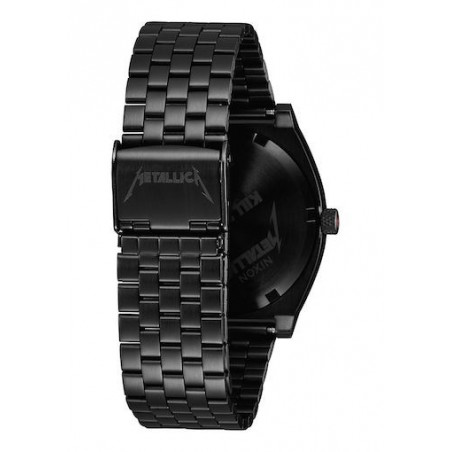 Montre NIXON Time Teller Metallica Black Pushead