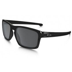 Lunettes de Soleil OAKLEY Sliver Polished Black Black Iridium Polarized