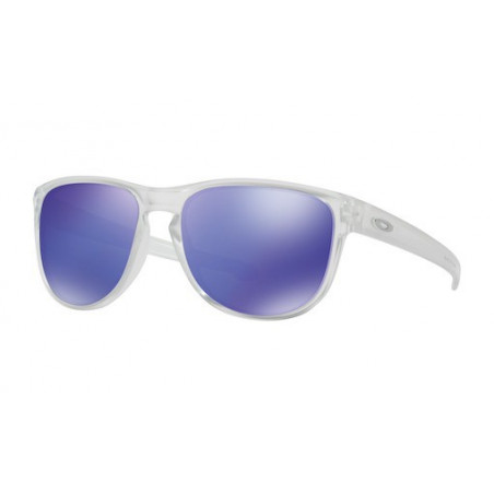Lunettes de Soleil OAKLEY Sliver Round Matt Clear Violet Iridium