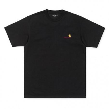 T-shirt CARHARTT WIP American Script Black