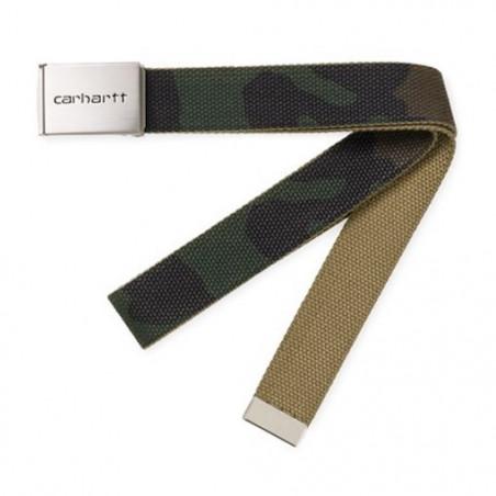 Ceinture CARHARTT WIP Clip Camo Laurel