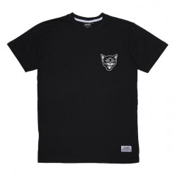 T-shirt JACKER Black Cats Black