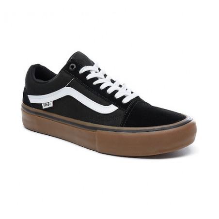 Chaussure VANS Old Skool Pro Black White Gum