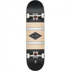 Skateboard GLOBE G1 Diablo 2 Black Silver