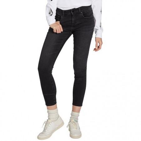 Jean Girl VOLCOM Rockout III Skinny Vintage Black
