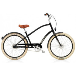 Vélo Cruiser ELECTRA Townie Balloon 8i Black
