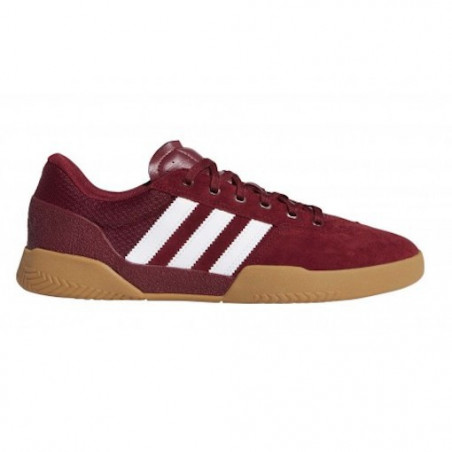 Chaussure ADIDAS City Cup Burgundy White Gum