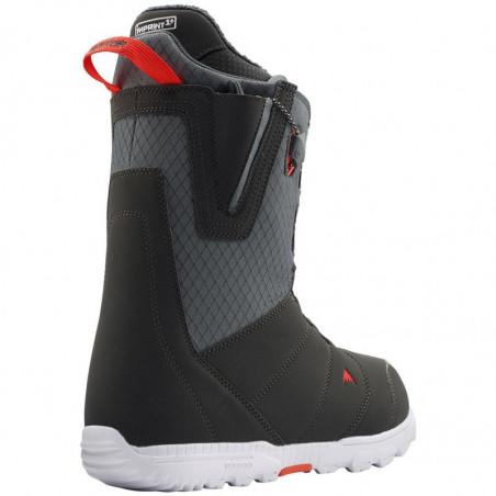 Boots Snowboard BURTON Moto Gray Red 2020