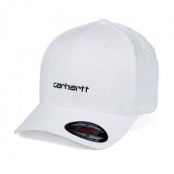 Casquette CARHARTT WIP Script White Black