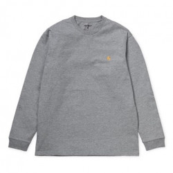 T-shirt CARHARTT WIP Chase Grey Heather Gold