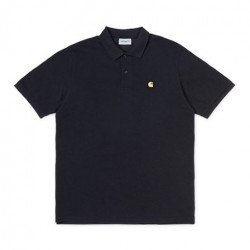 Polo CARHARTT WIP Chase Pique Black Gold
