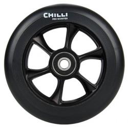 Roue Trottinette CHILLI Turbo 110mm Black