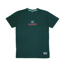 T-shirt JACKER Business Club Dark Green