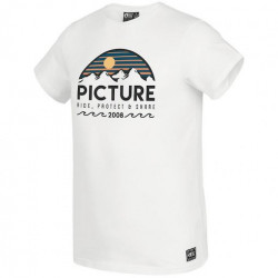 T-shirt PICTURE Yukon White
