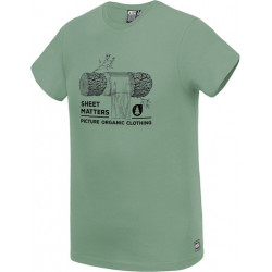 T-shirt PICTURE Log Army Green