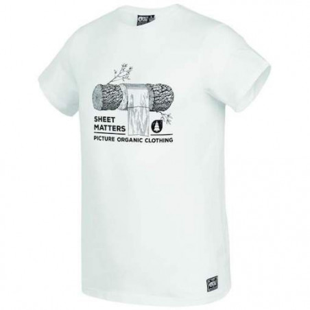 T-shirt PICTURE Log White