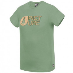 T-shirt PICTURE Basement Cork Army Green