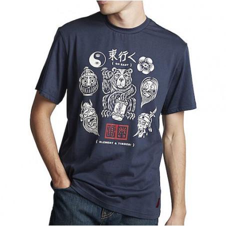 T-shirt ELEMENT East Flash Indigo