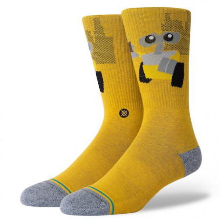 Chaussette STANCE Wall E Orange