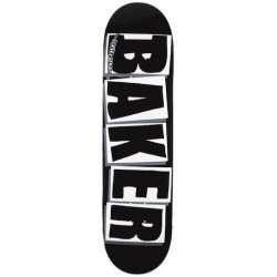 Skateboard BAKER Brand Logo Black White