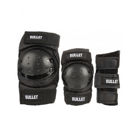 Tripack Protection BULLET Combo Adult Black
