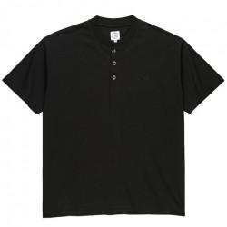 T-shirt POLAR Henley Black