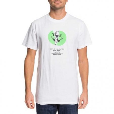T-shirt DC Don't Let Them White