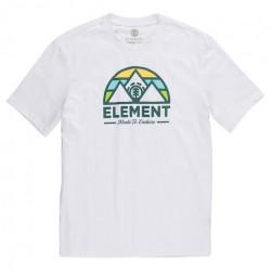T-shirt Kid ELEMENT Squaw Optic White