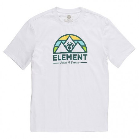 T-shirt Kid ELEMENT Squaw Optic White
