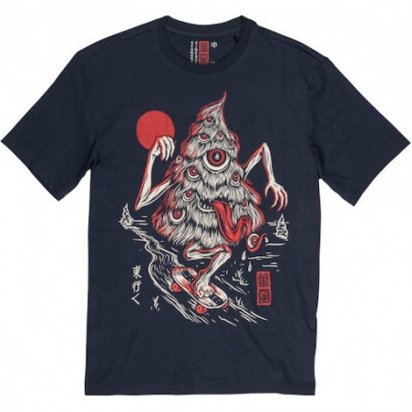 T-shirt ELEMENT Tree Ghost Indigo
