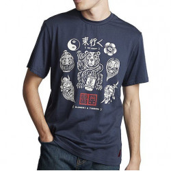 T-shirt Kid ELEMENT Flash Indigo