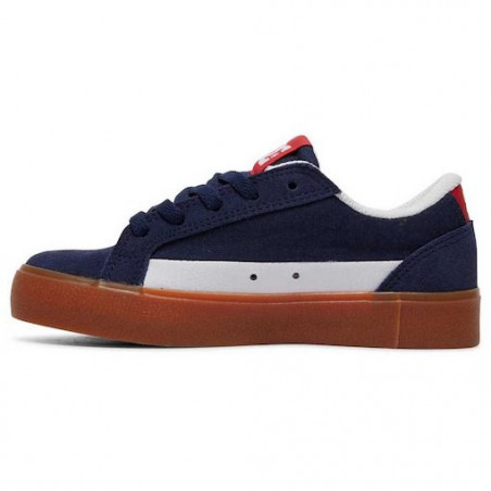 Chaussure Kid DC Lynnfield Navy Red