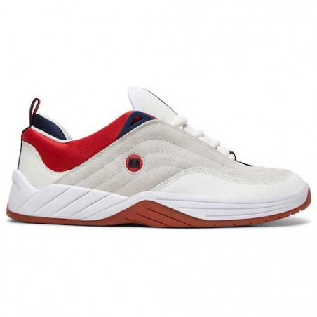 Chaussure DC Williams Slim S White Navy Red