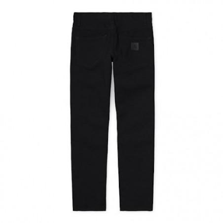 Pantalon CARHARTT WIP Klondike Black Rinsed