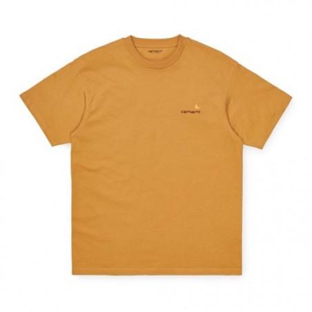 T-shirt CARHARTT WIP American Script Winter Sun