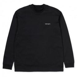 T-shirt CARHARTT WIP Mockneck Black White