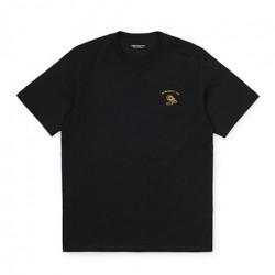 T-shirt CARHARTT WIP Reverse Midas Black Colza