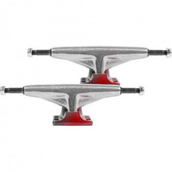 Paire Trucks TENSOR Alum Lo Raw Red Fade 5,25