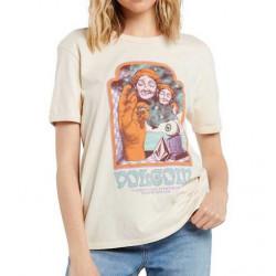 T-shirt Girl VOLCOM Max Loeffler Sand